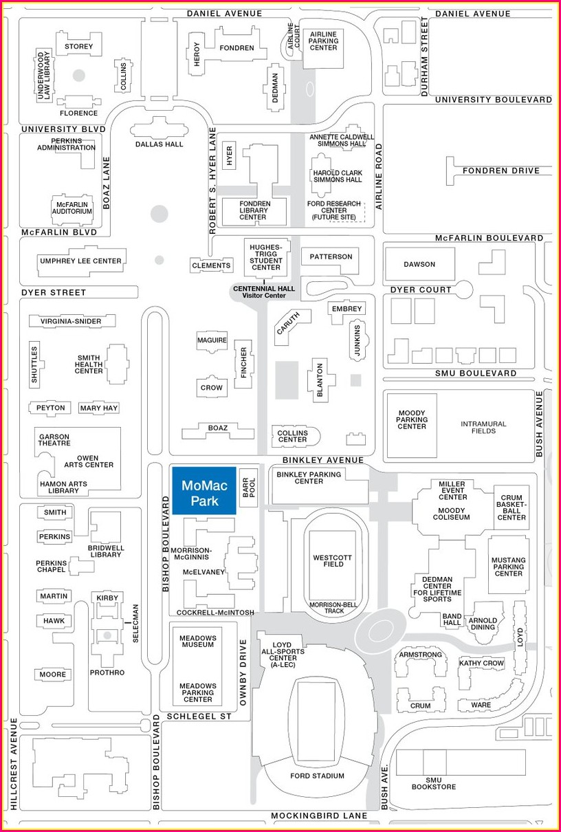 Smu Campus Map Parking