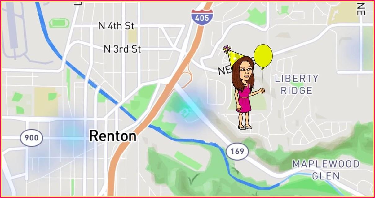 Snapchat Map Bitmoji Meanings