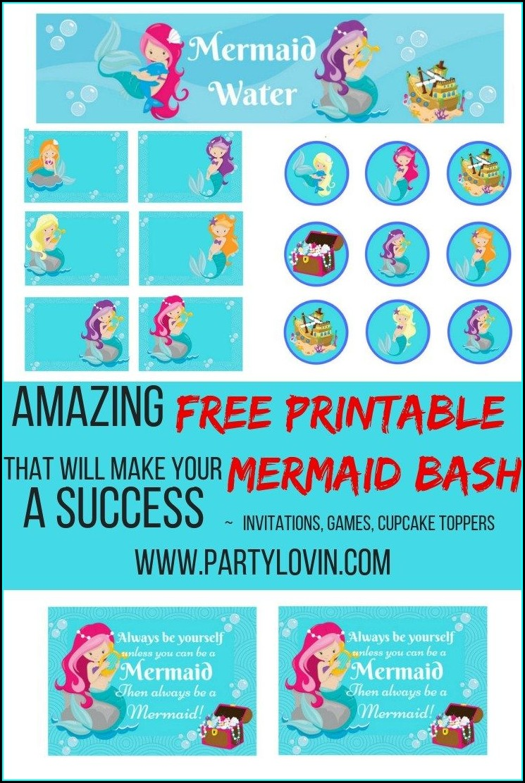 Splish Splash Birthday Bash Invitations Free