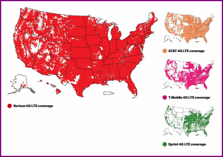 Sprint Vs Verizon Coverage Map 2018