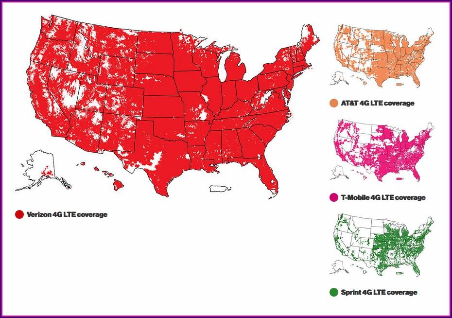 Sprint Vs Verizon Coverage Map 2018