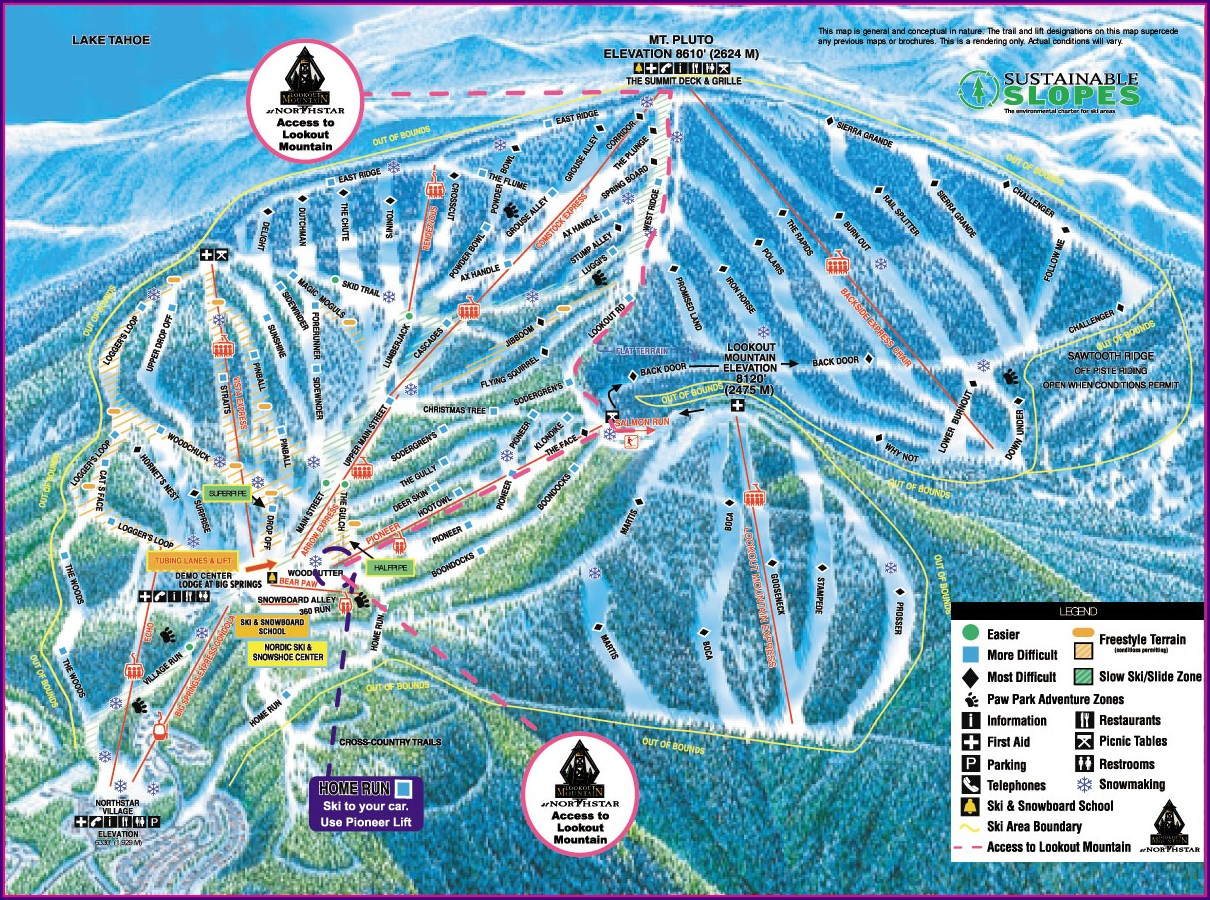 Squaw Valley Trail Map Pdf