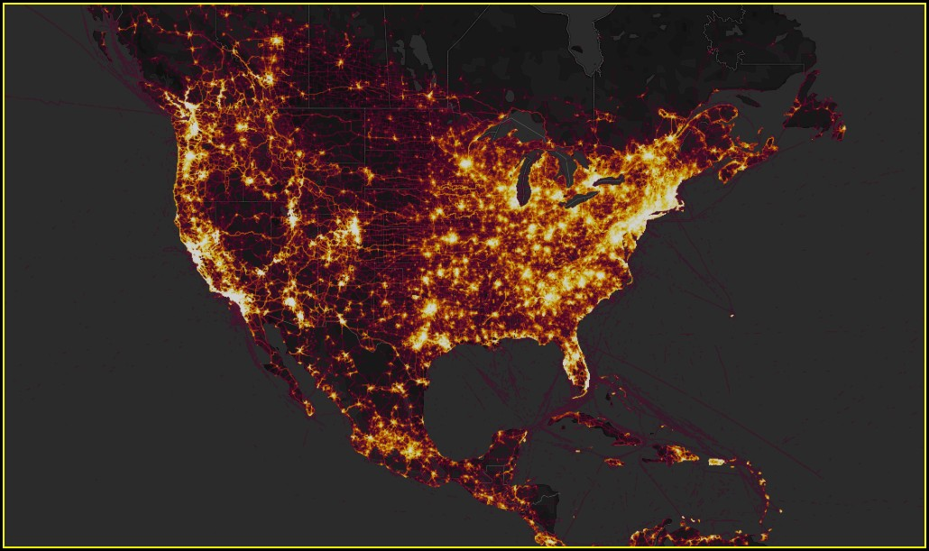 Strava Heat Map Military