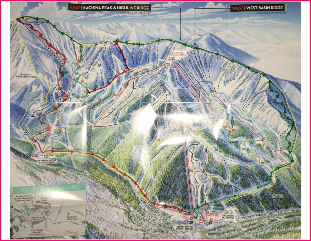 Taos Ski Valley Map