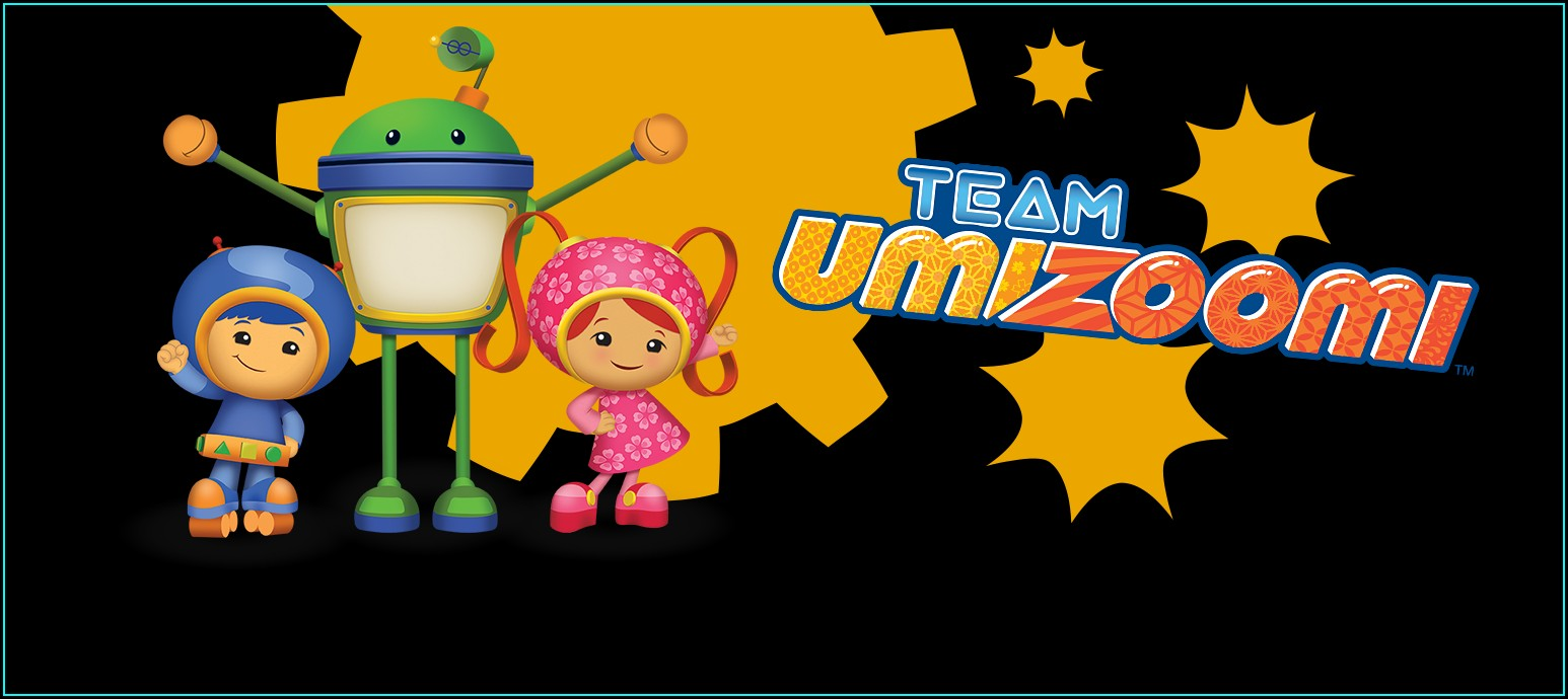 Team Umizoomi Birthday Invitations