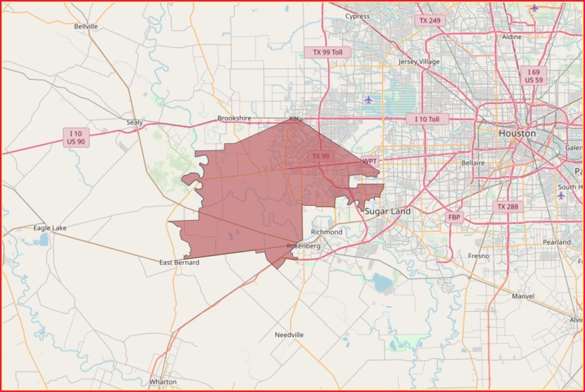 Texas House Of Representatives District Map 2019