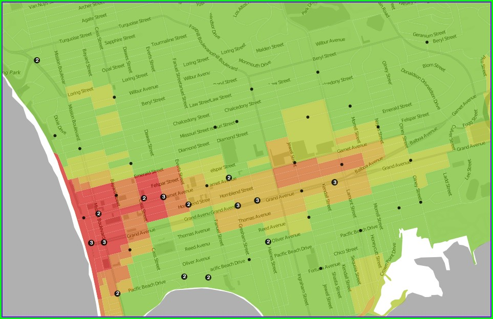 Trulia Heat Map 2019