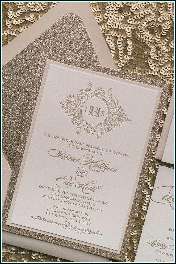 Two Thousand Sixteen Wedding Invitation