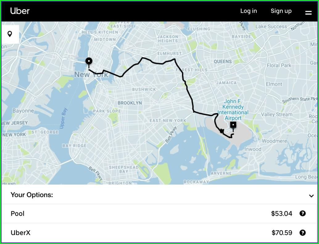 Uber Surge Map History