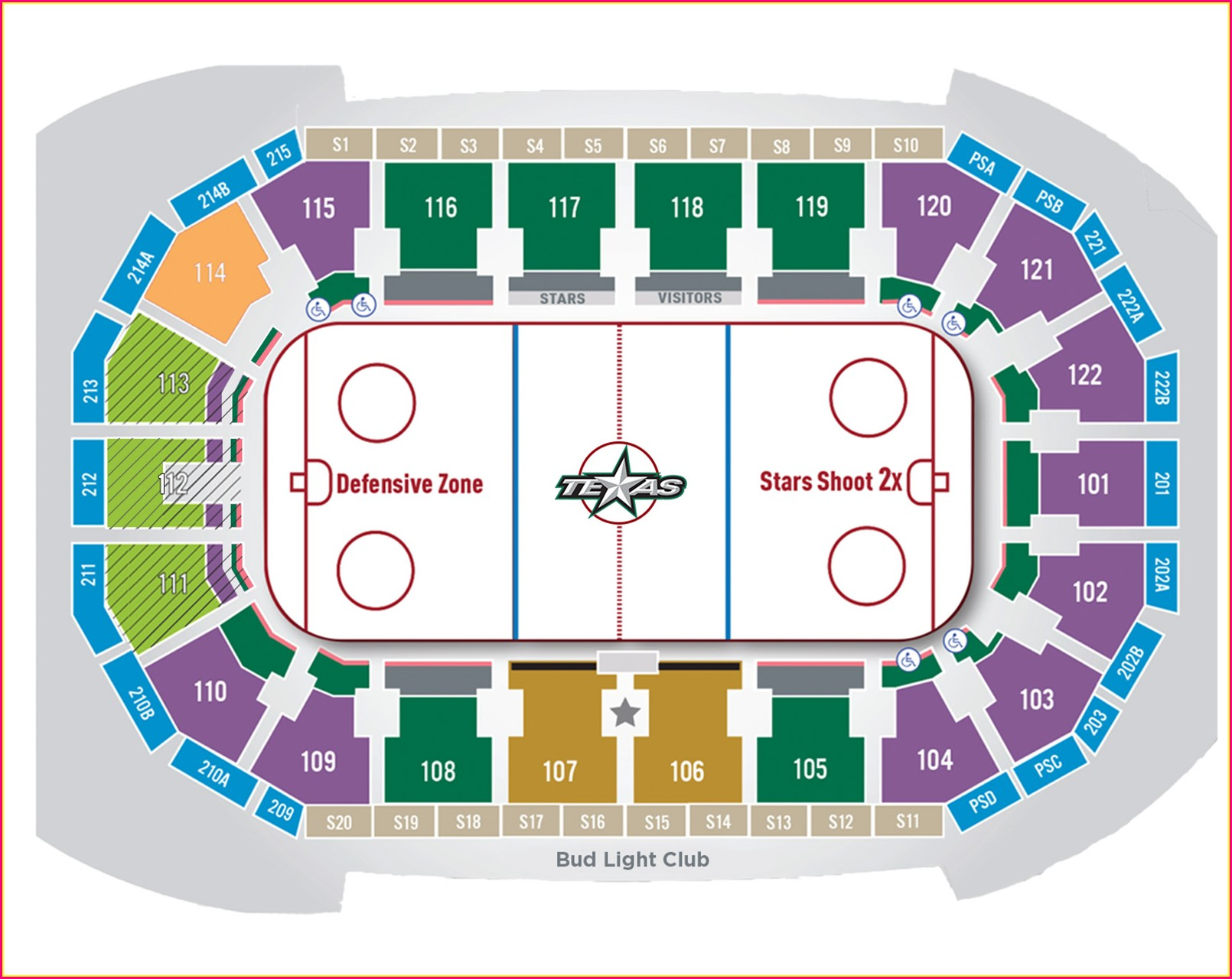 United Center Seat Map Concert