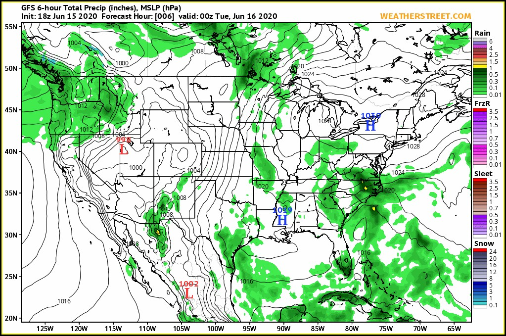 Us Radar Map 10 Day