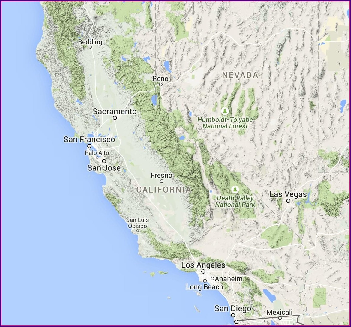 Usda Plant Hardiness Zone Map California