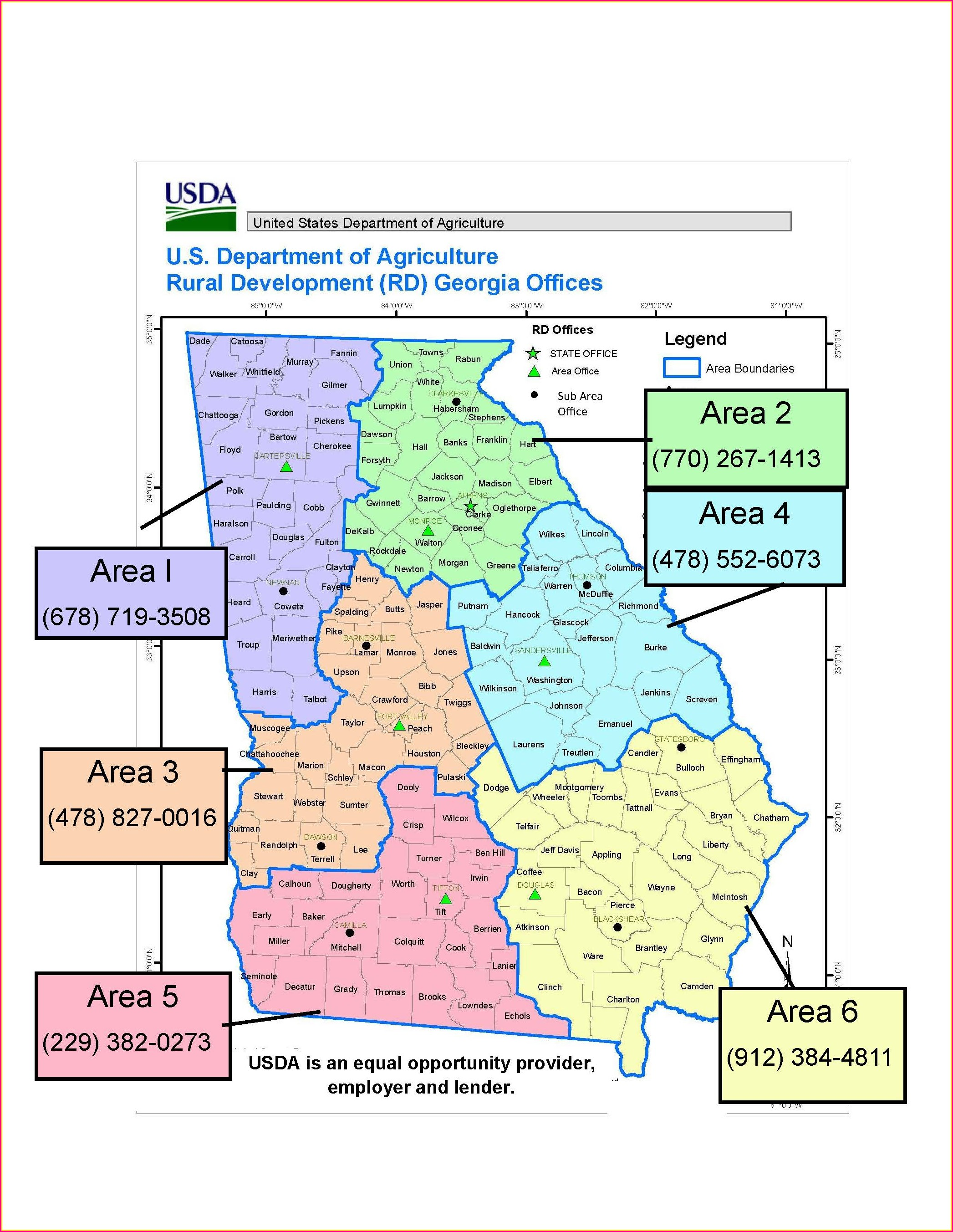 Usda Property Eligibility Map 2019