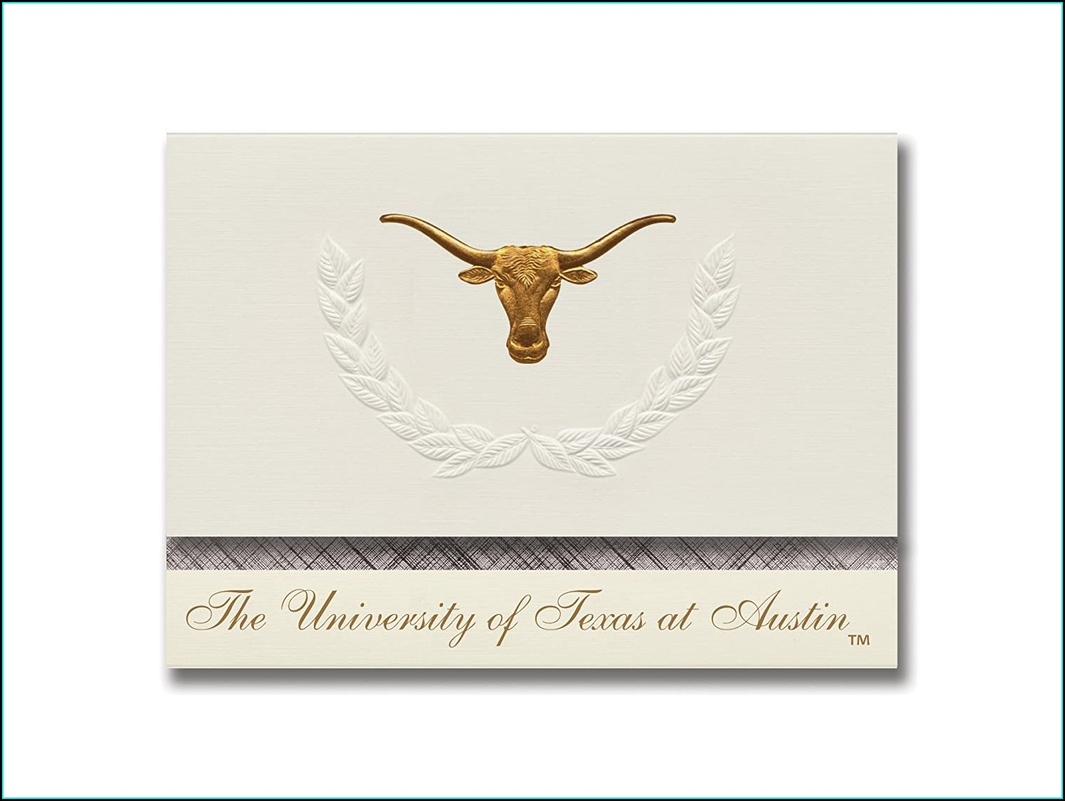 Ut Austin Graduation Invitations