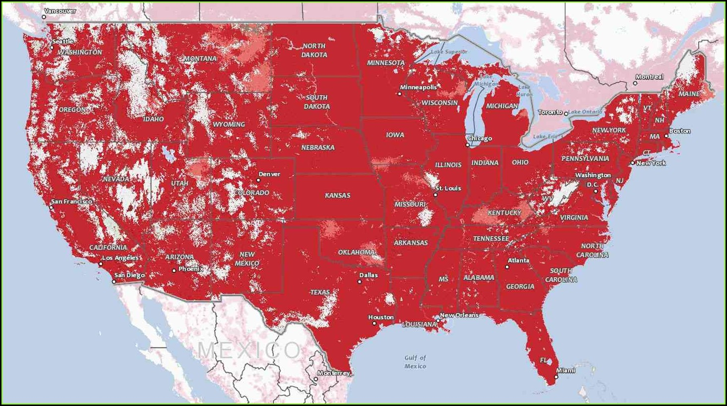 Verizon 5g Coverage Map California