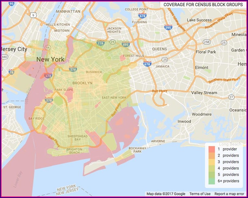 Verizon Fios Map Brooklyn