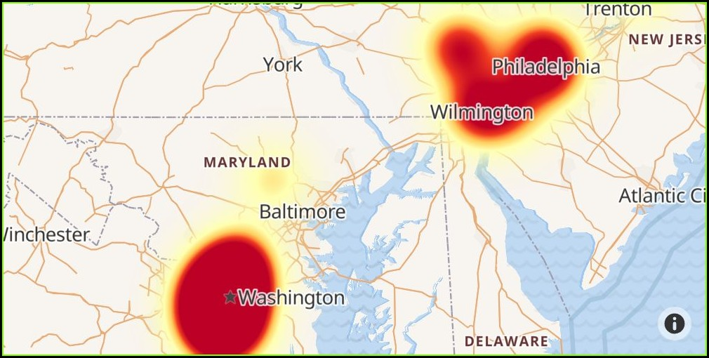 Verizon Fios Outage Map Delaware