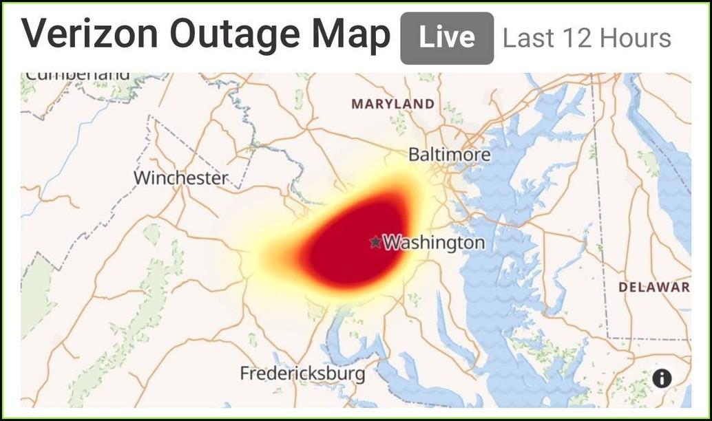 Verizon Fios Outage Map