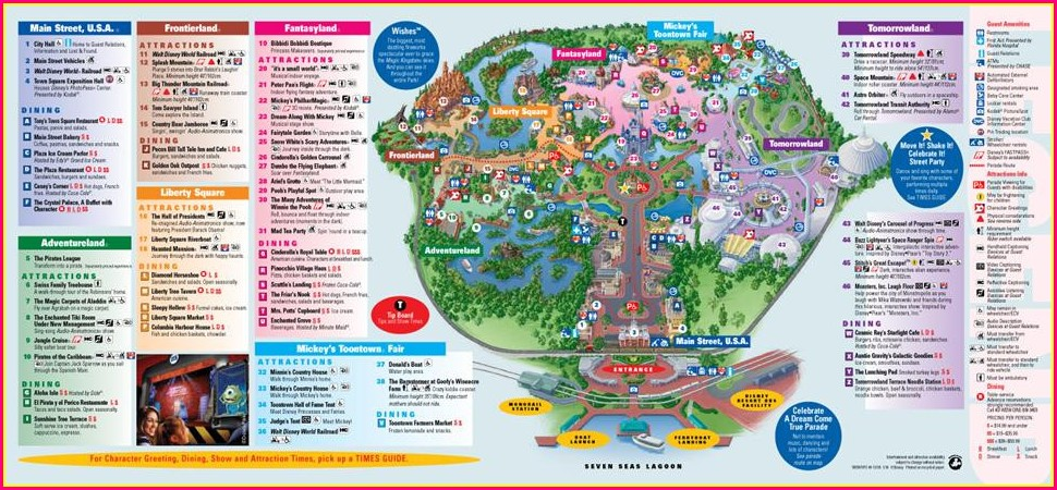 Walt Disney World Dolphin Resort Map