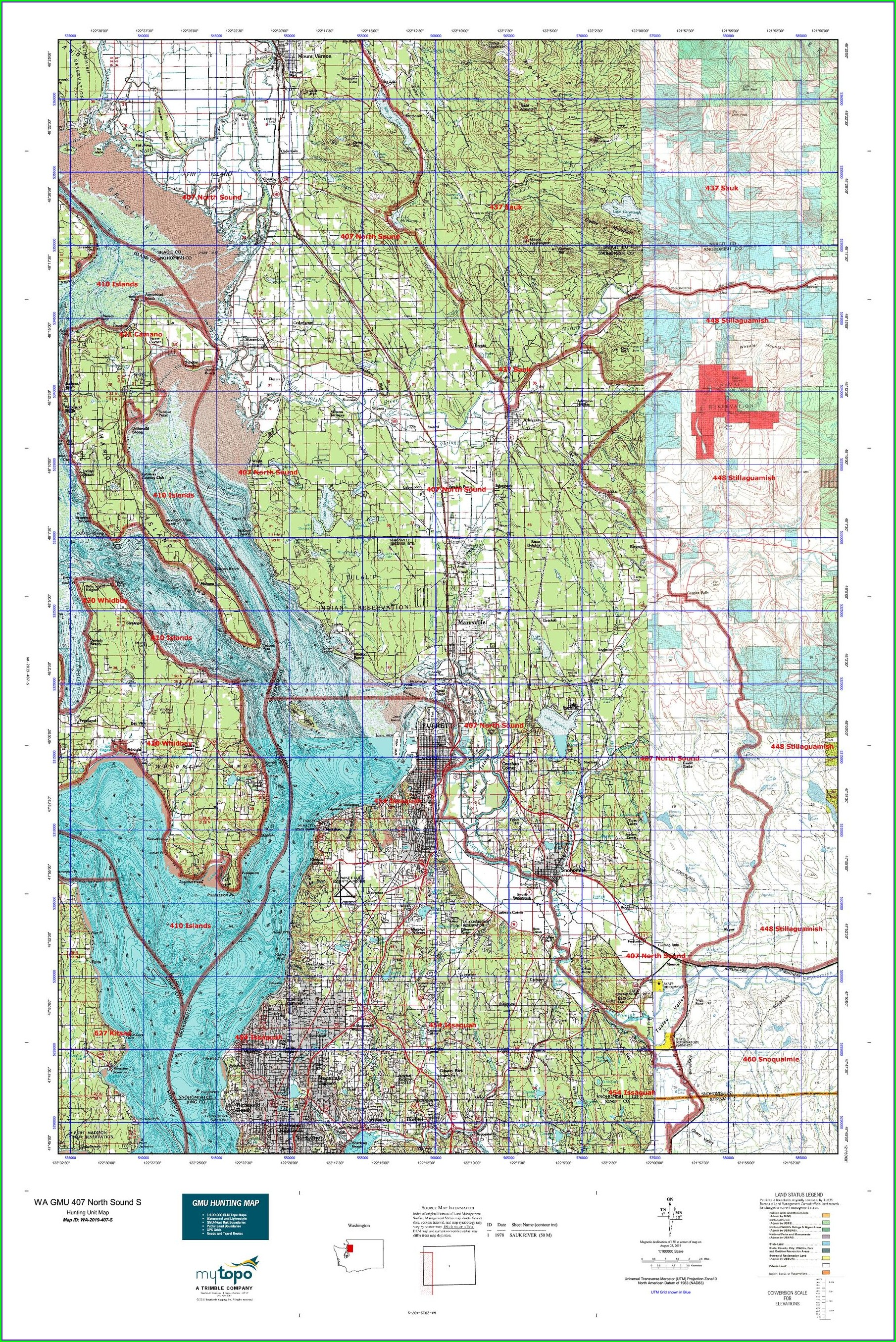 Washington Gmu Map 2019
