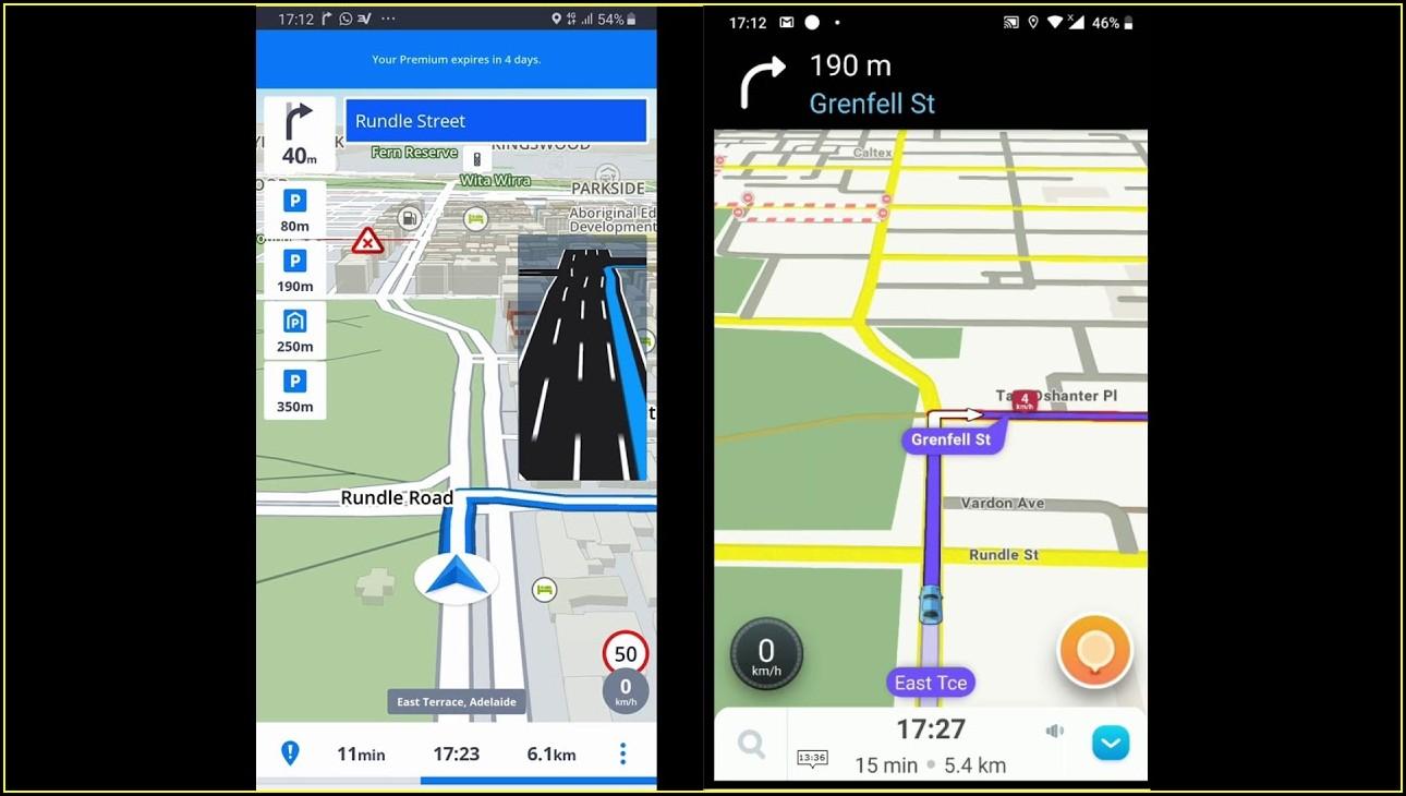 Waze Live Map Budapest