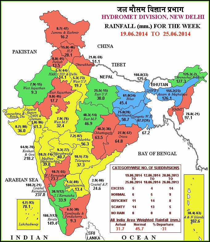 Weather Forecast Map India Imd