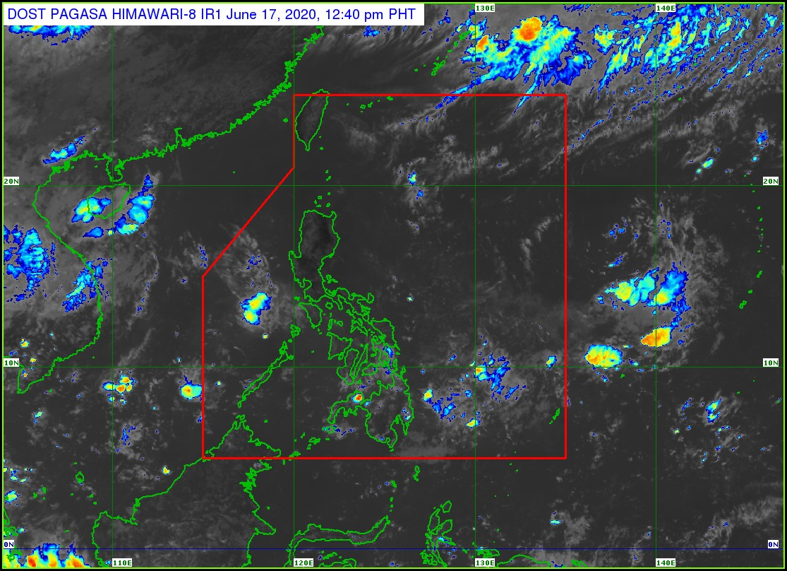 Weather Forecast Map Philippines