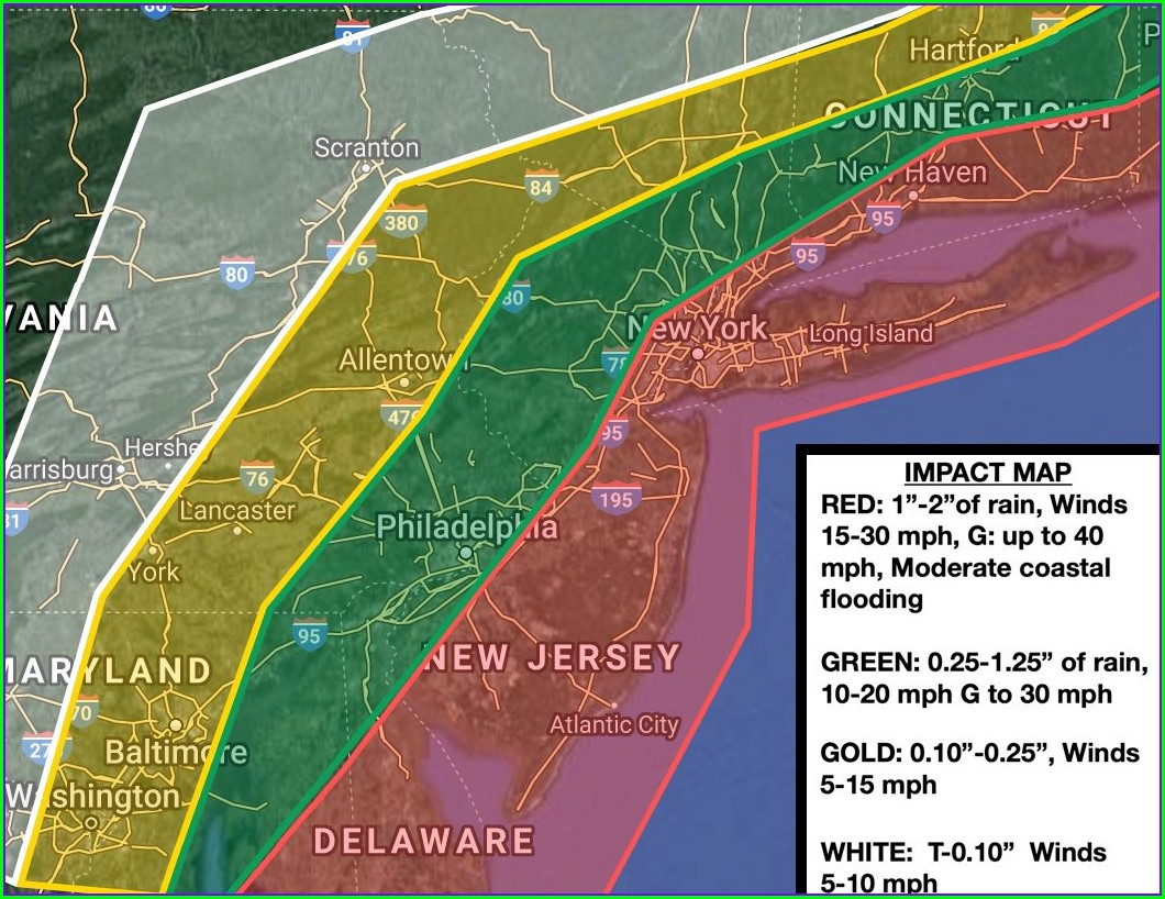 Weather Map Nj Today