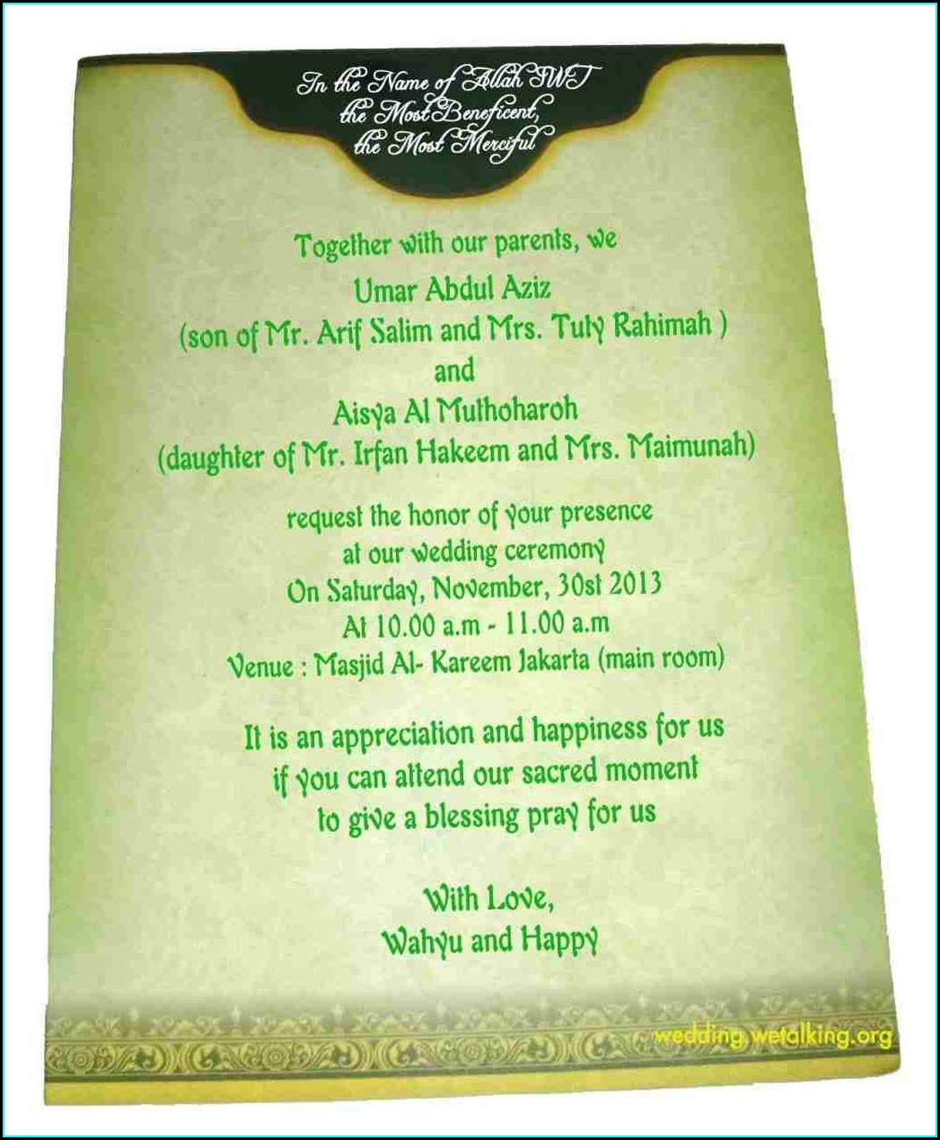 Wedding Invitation Card In Hindi Language
