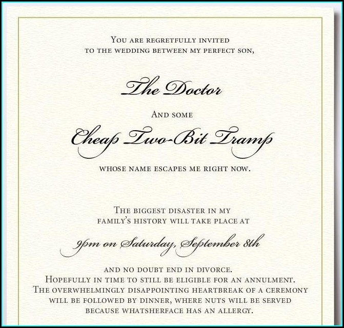 Wedding Invitation Wording For Gay Couples