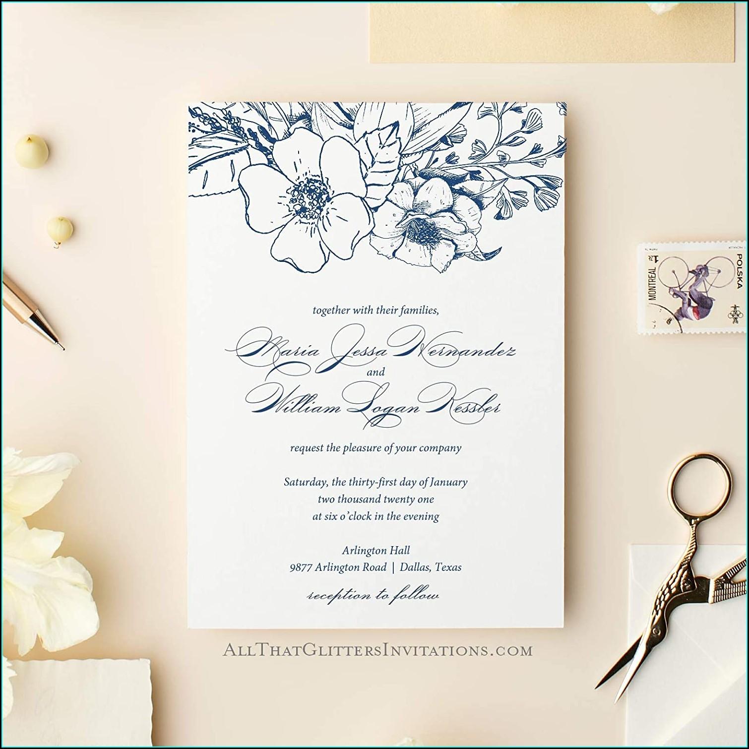 Wedding Invitations Arlington Tx