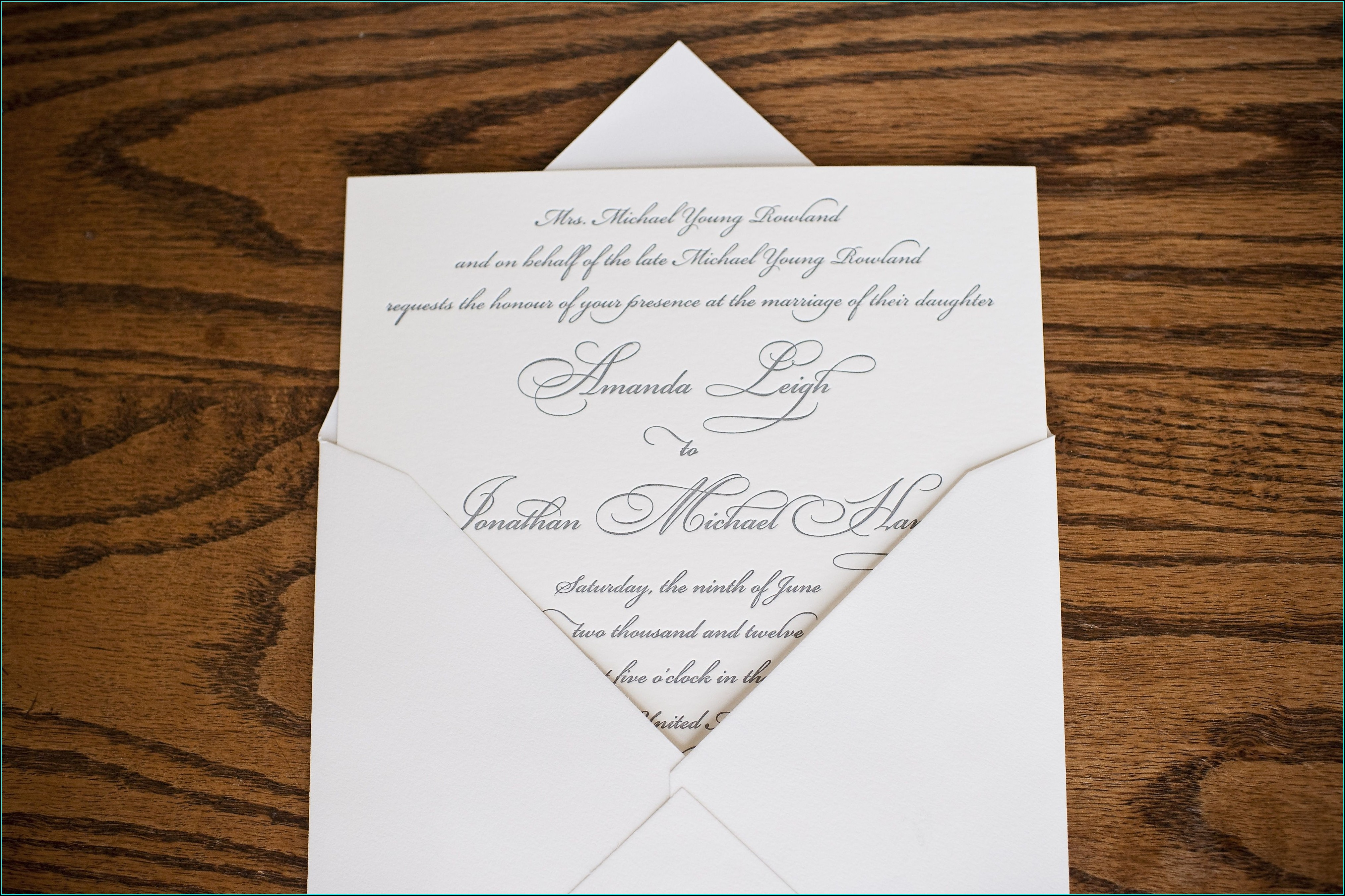 Wedding Invitations Knoxville Tn