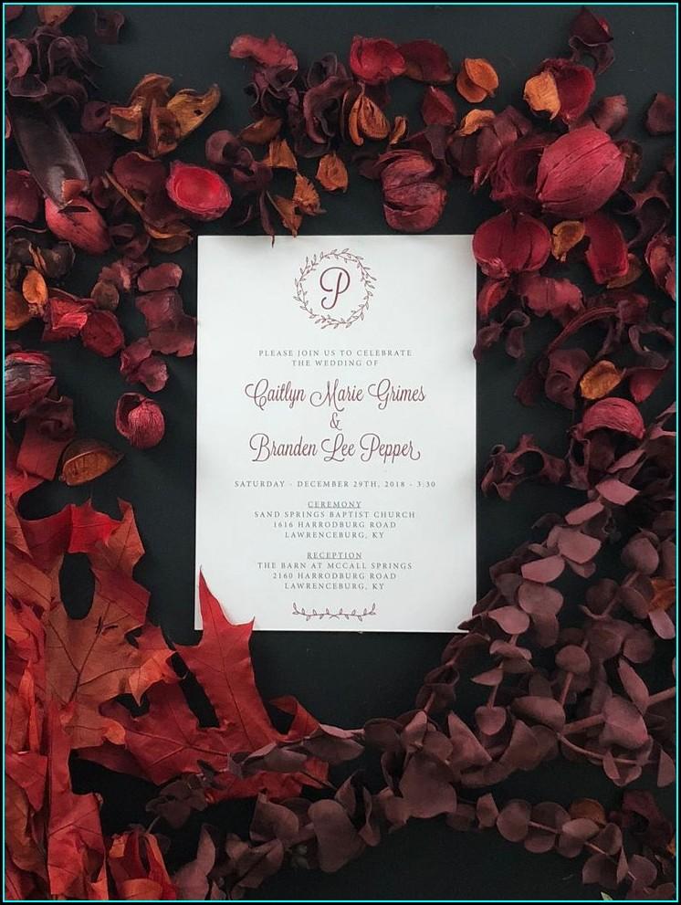 Wedding Invitations Lexington Ky