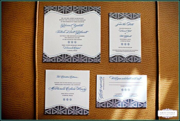Wedding Invitations Lubbock Tx