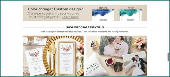 Wedding Invitations On Vistaprint