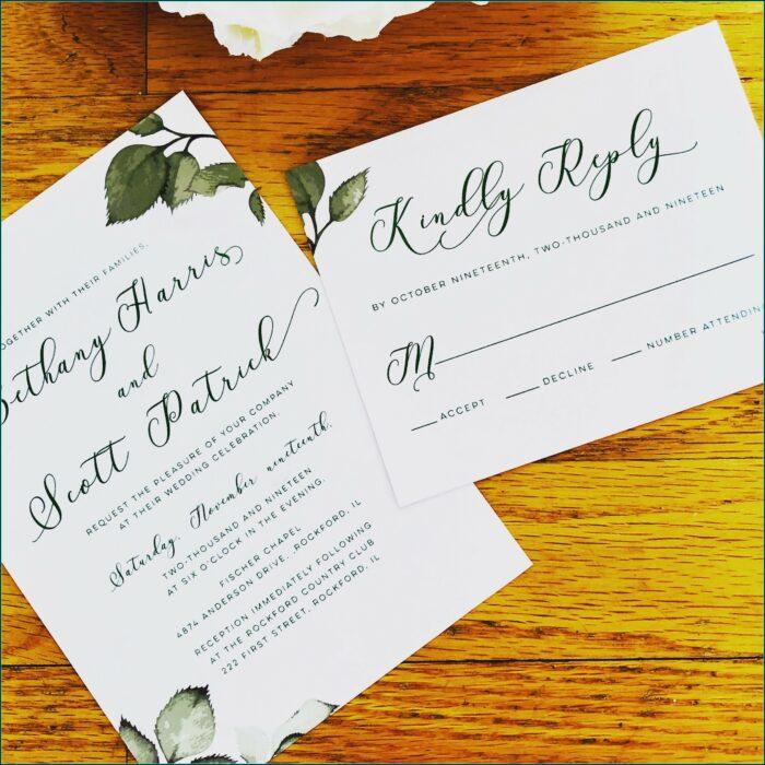 Wedding Invitations Rockford Il