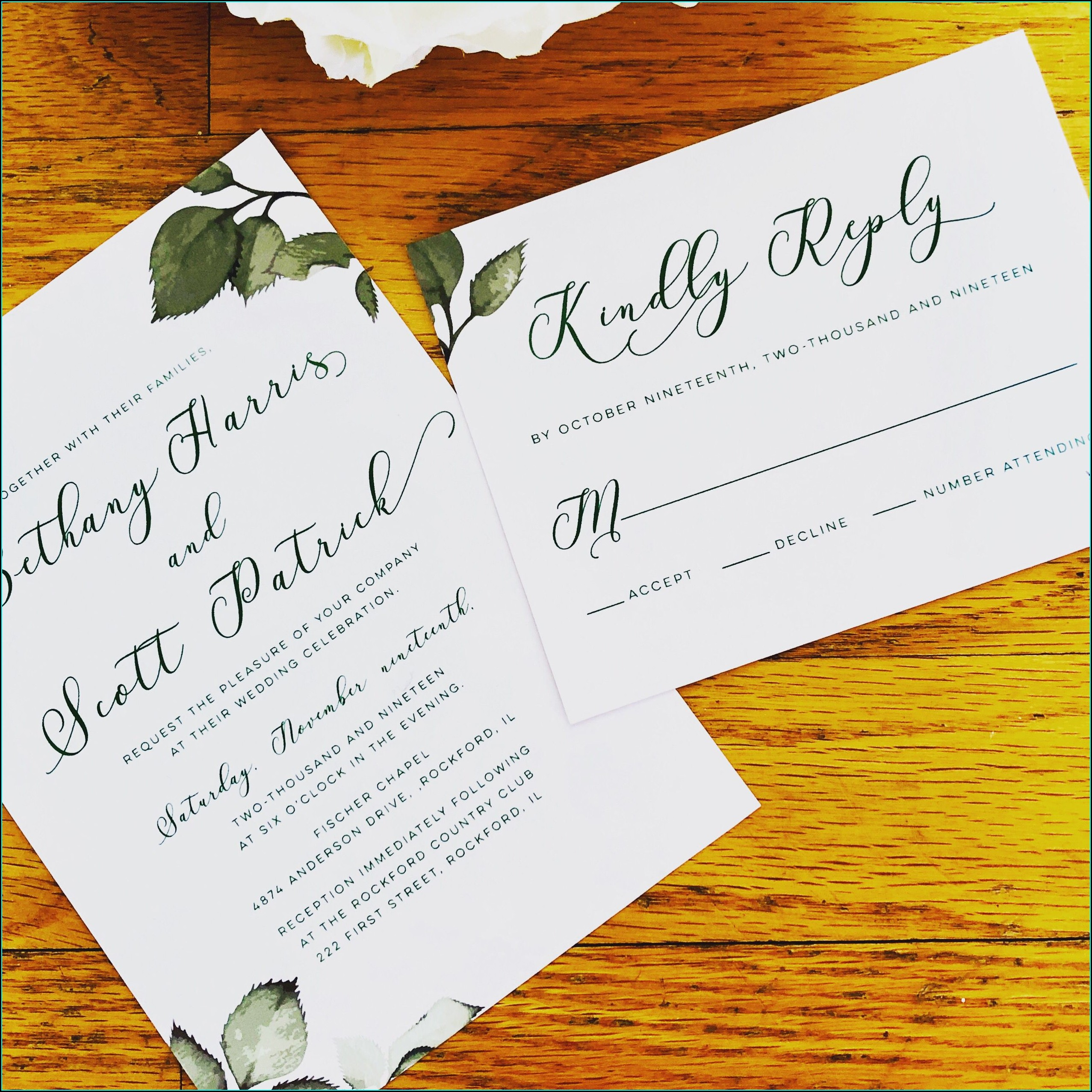Wedding Invitations Rockford Il