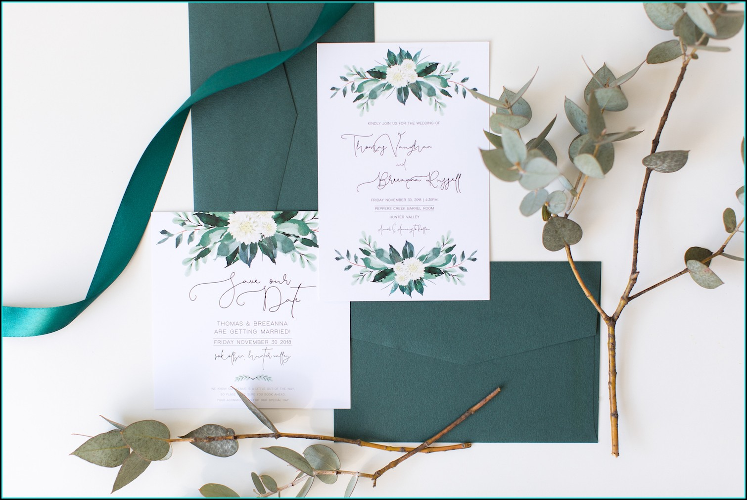 Wedding Invitations Sunshine Coast