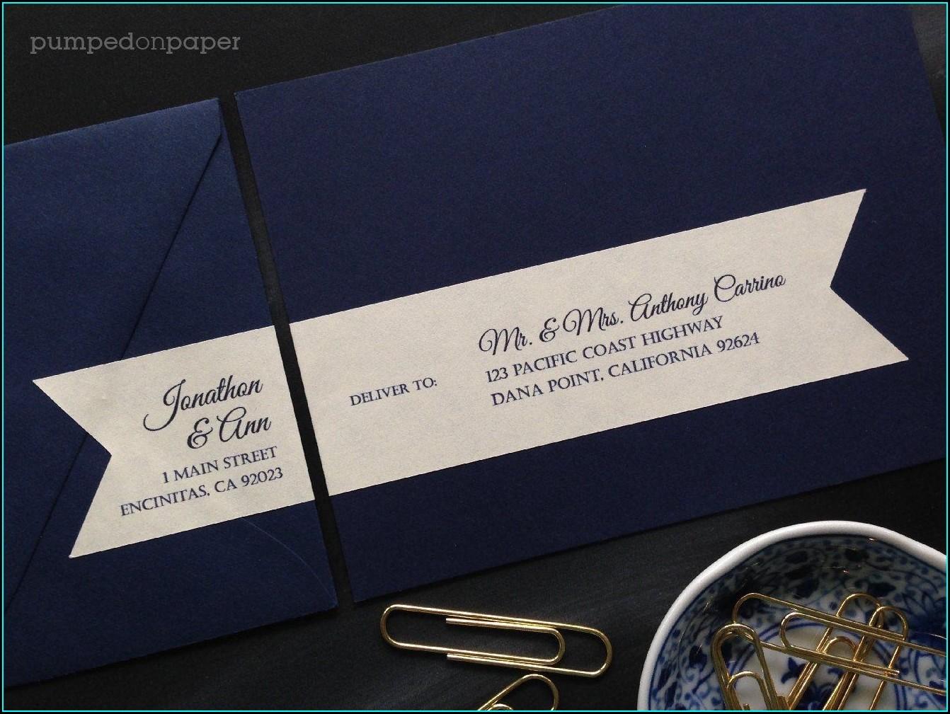 Wedding Invitations With Recipient Addressing