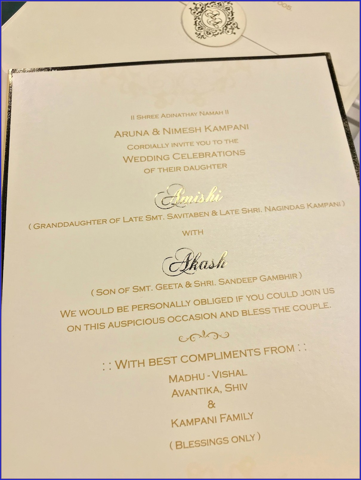 Whatsapp Indian Wedding Invitation Quotes