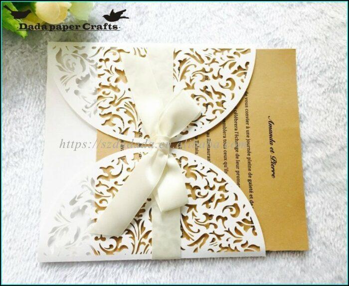 Wholesale Blank Quinceanera Invitations