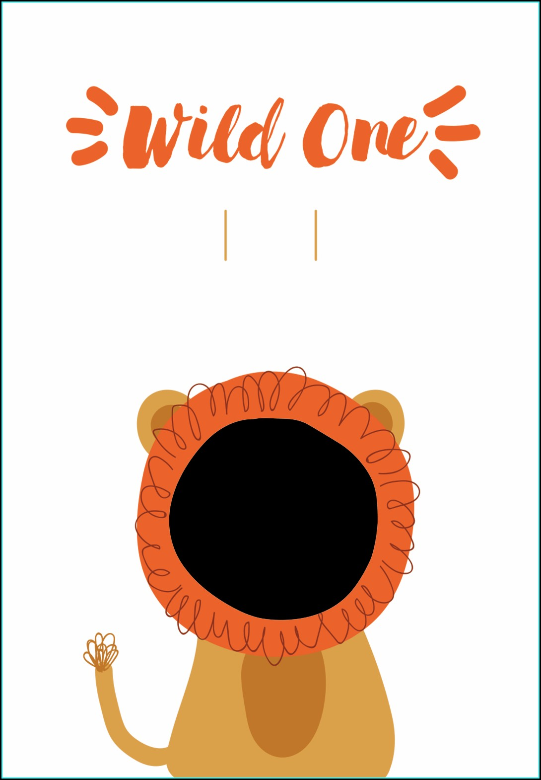 Wild One Birthday Invitation Template Free