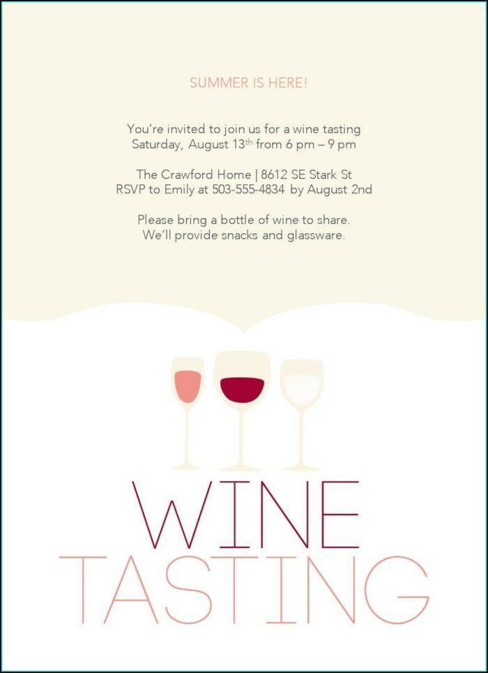 Wine Tour Invitation Templates