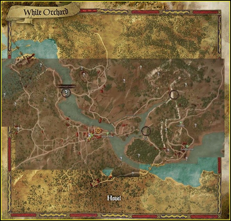Witcher 3 Map Size Square Miles