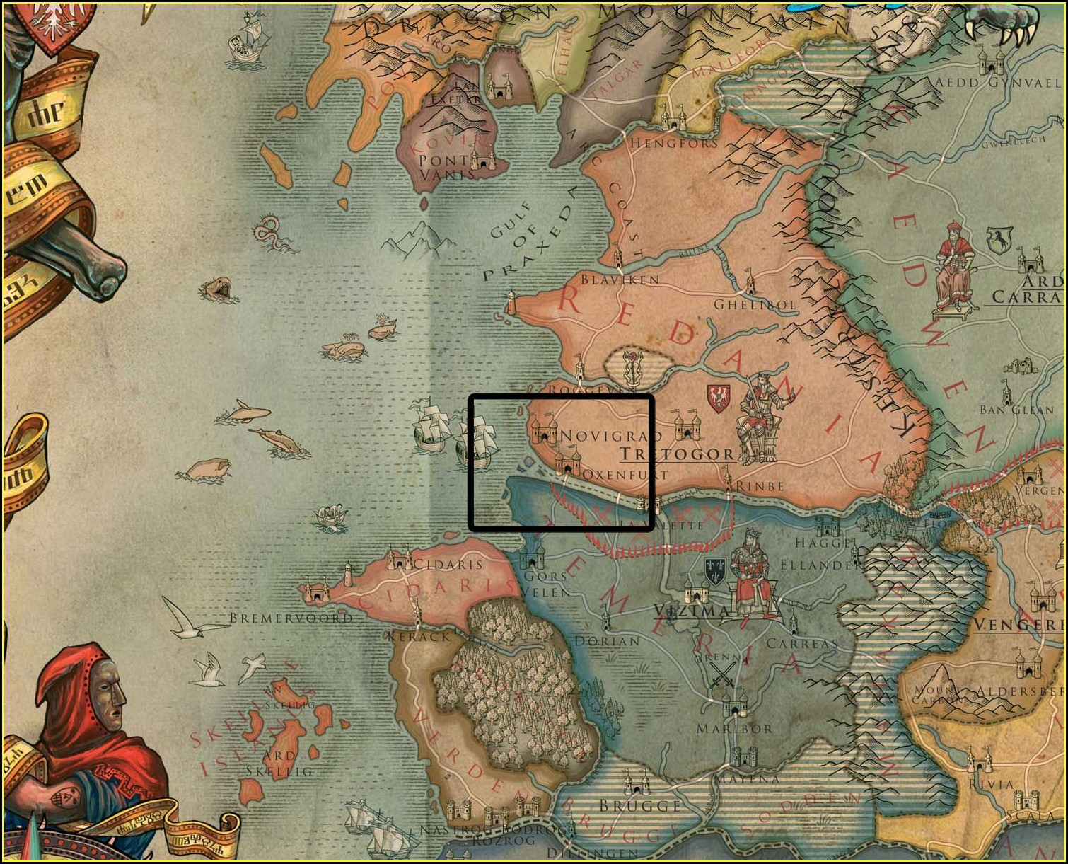 Witcher 3 Map Size With Dlc