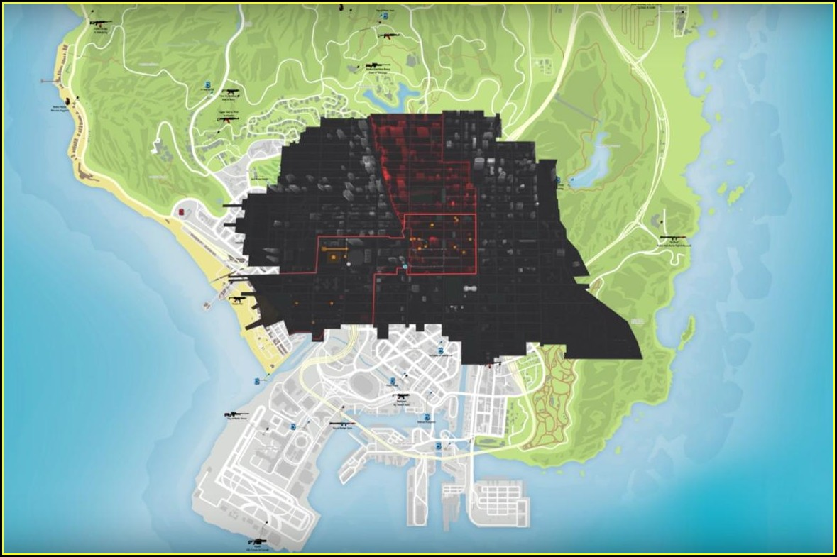 Witcher 3 Map Vs Gta 5