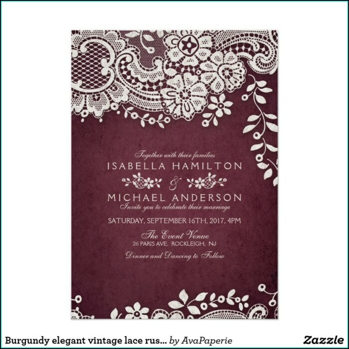 Zazzle Rustic Wedding Invitations