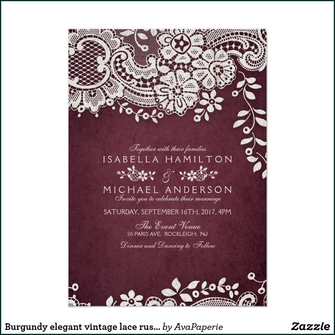 Zazzle Rustic Wedding Invitations