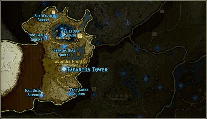 Zelda Botw Shrine Map Printable