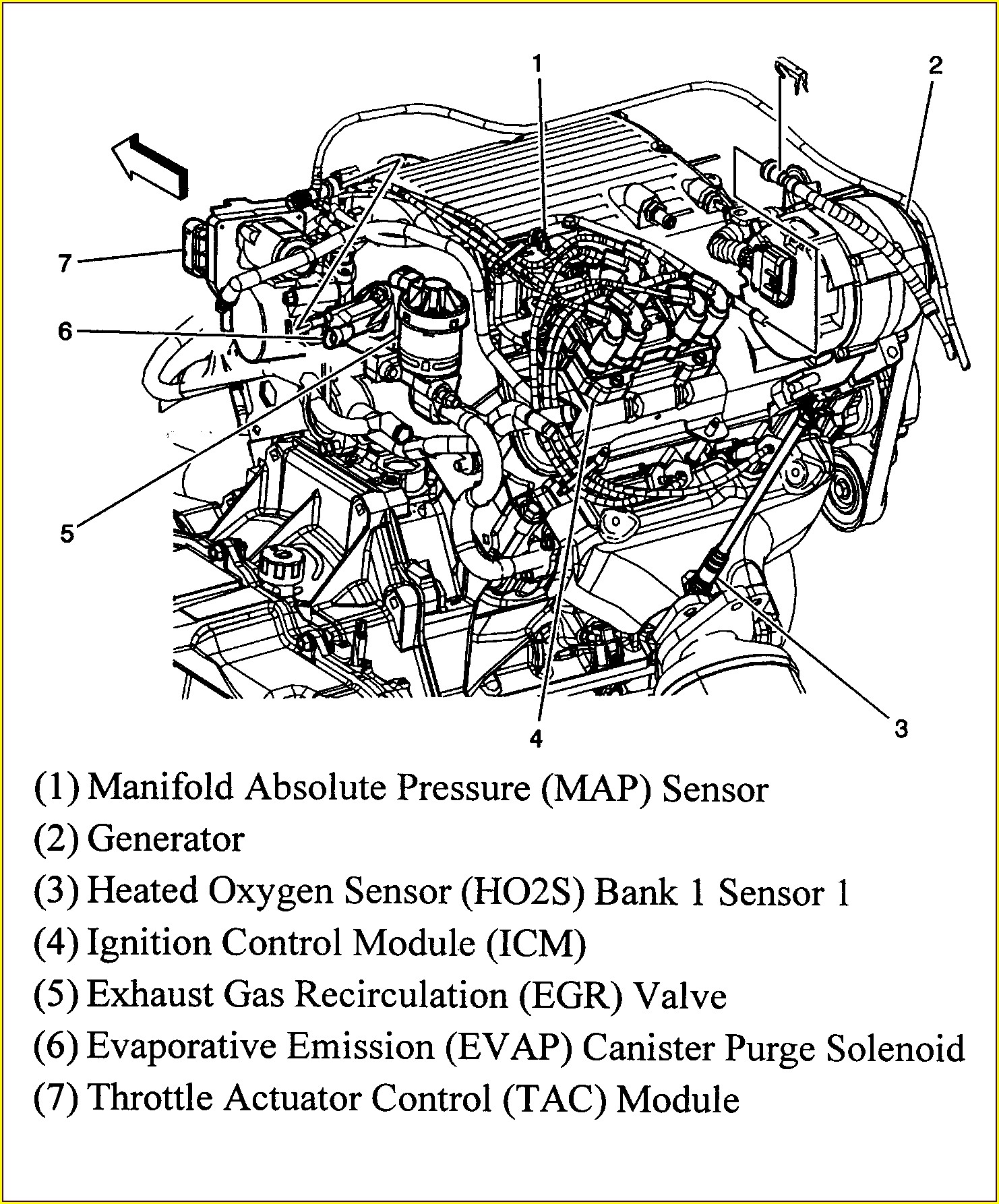 2006 Pontiac Grand Prix Map Sensor Location